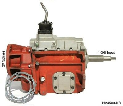Dodge 2500 3500 Diesel New NV4500 4x4 5 Speed Transmission 1-3/8 Input Shaft
