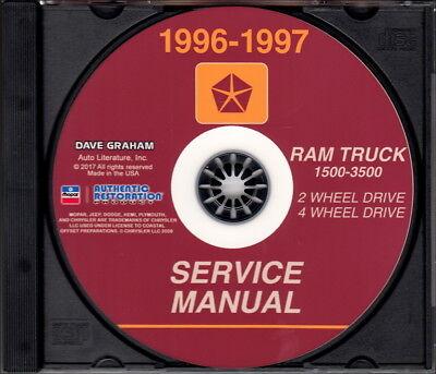Dodge Ram Factory Service Manual - AutoHandbooks