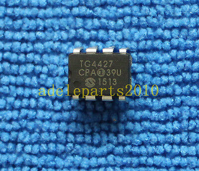 10pcs Tc4427cpa 1.5a Dual High-speed Power Mosfet Drivers