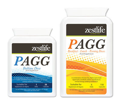 Zestlife Pagg Stack One Month Supply-fat burn, muscle building,better