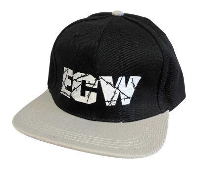 a0bf6b00f ECW Extreme Championship Wrestling Black Polysnap Baseball Cap Hat
