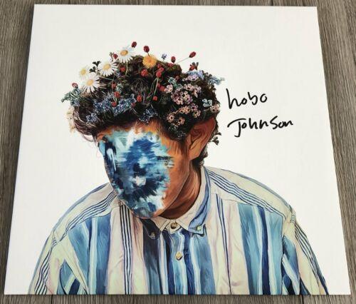 HOBO JOHNSON SIGNED AUTOGRAPH THE FALL OF HOBO JOHNSON VINYL ALBUM w/EXACT PROOF