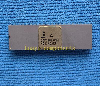 1pcs Cdp1802acd3 Cdp1802acd High-reliability Cmos 8-bit Microprocessor Dip-40