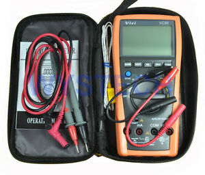 NEW-VC99-3-6-7-Auto-range-digital-multimeter-with-Bag-DMM-AC-DC-thermometer