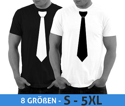 T-Shirt mit Krawatte Junggesellenabschied JGA Party Shirt Smoking - Smoking Kostüm