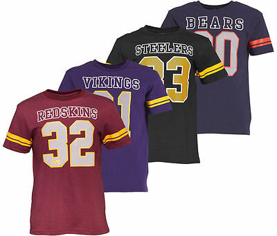 Men's Majestic Athletic NFL T-Shirts Jerseys Raiders Bears Redskins Vikings Tops