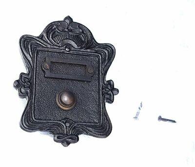 Antik Style Messing Tür Klingel Türklingel 1 Klingelschild Klingelplatte K99A
