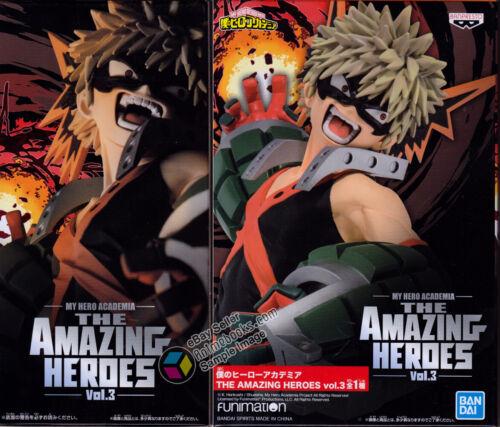 My Hero Academia The Amazing Heroes Vol. 3 Bakugo Katsuki Figure by Banpresto