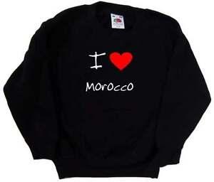 I-Love-Heart-Morocco-Kids-Sweatshirt