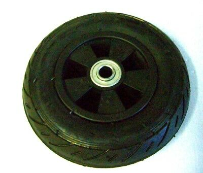 Solid Rubber Wheel 8 Inch Generators Welders Small Engine 58 Shaft