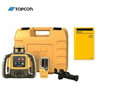 Topcon Rl-h5a Self-leveling Rotary Laser Level Field Book Ls-80l Receiver Kit