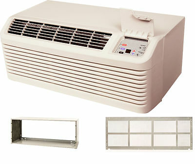 Amana PTH093G35AXXX 9000 BTU PTAC Air Conditioner Heat Pump with Sleeve & Grill