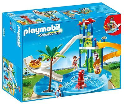Playmobil 6669 Water Park Playset