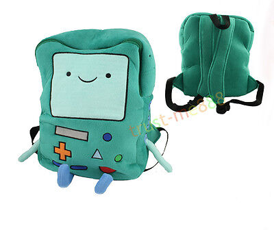 Adventure Time Plush Jazwares Plush Doll Deluxe Beemo Bmo  Bag Backpack 13 Inch