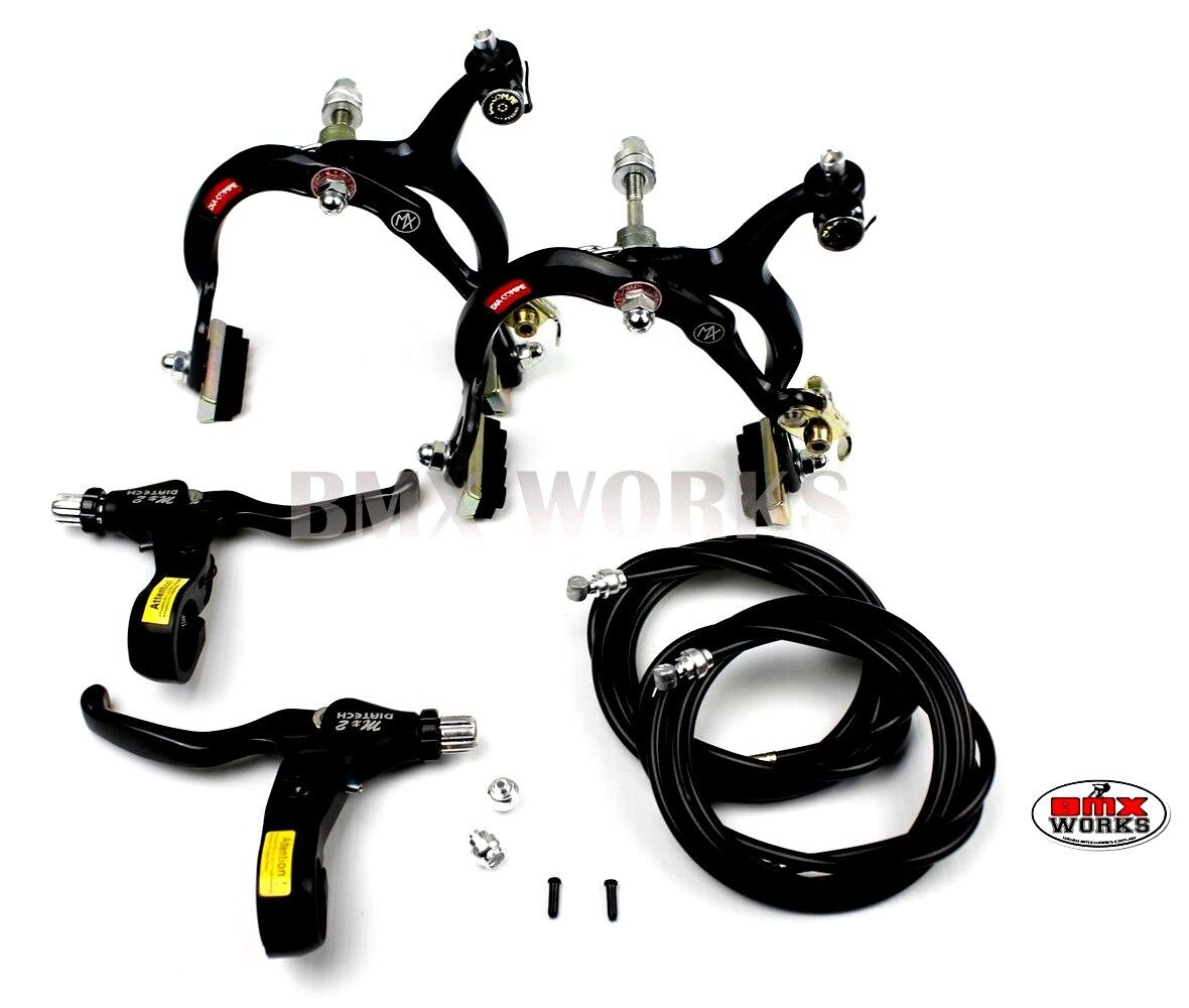 Genuine Dia-Compe BMX MX883 Caliper /& MX2 Lever Silver /& Black Brake Set