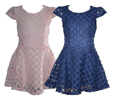 Schöne Mädchen Spitze  Kleid Sommer Kurzarm Kleid Sale!!! restposten