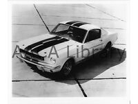by Shelby Office Factory Photo 1965 Ford Shelby Mustang GT350 Ref. # 74701