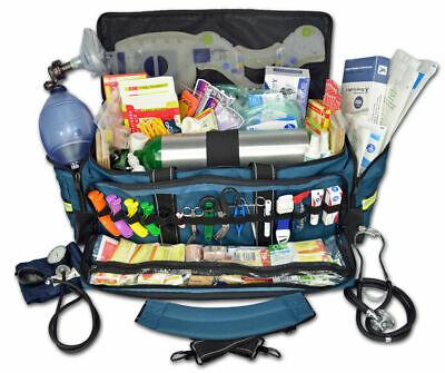 Lightning X Jumbo Oxygen Medic First Responder EMT/EMS Bag w/ Fill Kit D