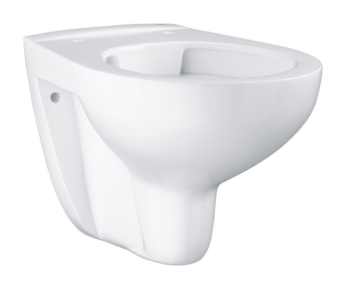 Grohe BauKeramik Tiefspül-WC spülrandlos Tiefspüler Wand Hänge Rimfree 39427 Bad