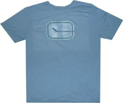 Vancouver Canucks Throwback Vintage Retro Sport Slim Fit T Shirt Clearance! $30 Vancouver Canucks T-shirts