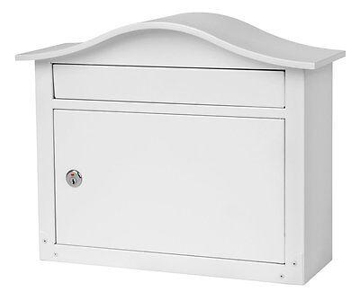 New Architectural Mailboxes SARATOGA Wall-mount Metal Mailbox, WITH KEYS (Architectural Mailboxes Saratoga)