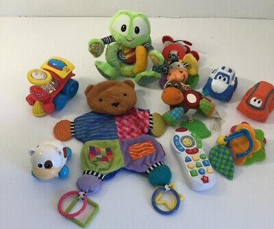 Baby Toys Large Lot Developmental Fun Unique Items Clean Vtech Bright Starts