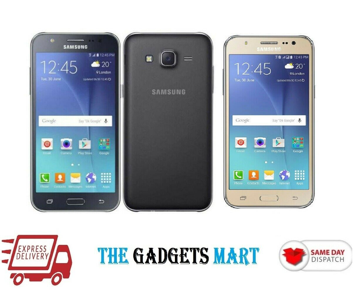 Android Phone -  SAMSUNG Galaxy J5 J500 Black Gold White 8GB Android Smart Phone Unlocked