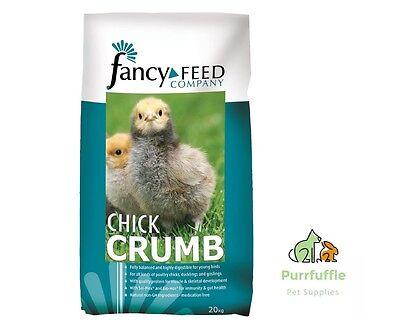 20KG FANCY FEED CHICK CRUMBS POULTRY FOOD CRUMB CHICKS GOSLINGS DUCKLINGS