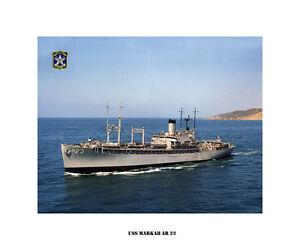 Uss Markab Ar 23 Us Naval Ship Usn Navy Photo Print Ebay
