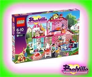 LEGO GIRL Belville 7586 Traumhaus Schloss Stadtvilla XL Alternative 3315 Friends