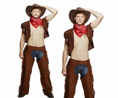 Sexy Cowboy Costume Travestimento da Uomo Spogliarellista Addio Al Nubilato