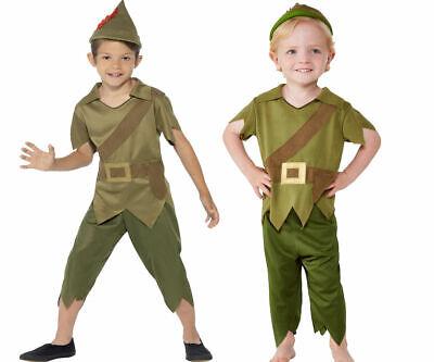 Toddler Baby Robin Hood-Kostüm Jungen Kostüm Mittelalter Kinder Büchertag Outfit
