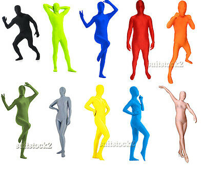 Halloween Party Full Body Lycra Spandex 2nd Skin Catsuit Zentai Costumes - Full Body Halloween Costumes