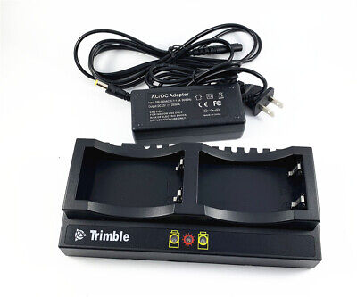 New Trimble Dual Charger For Trimble 5700 5800 R8 R7 R6 Gnss Gps Battery