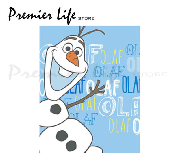 Disney Frozen Olaf Fleece Blanket - Brand New