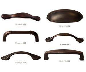 Oil Rubbed Bronze Kitchen Cabinet Hardware Pulls