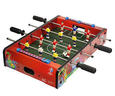 UEFA EURO2016 mini Kicker spieltisch Fußball Kickertisch Tischfußball Striker-XT