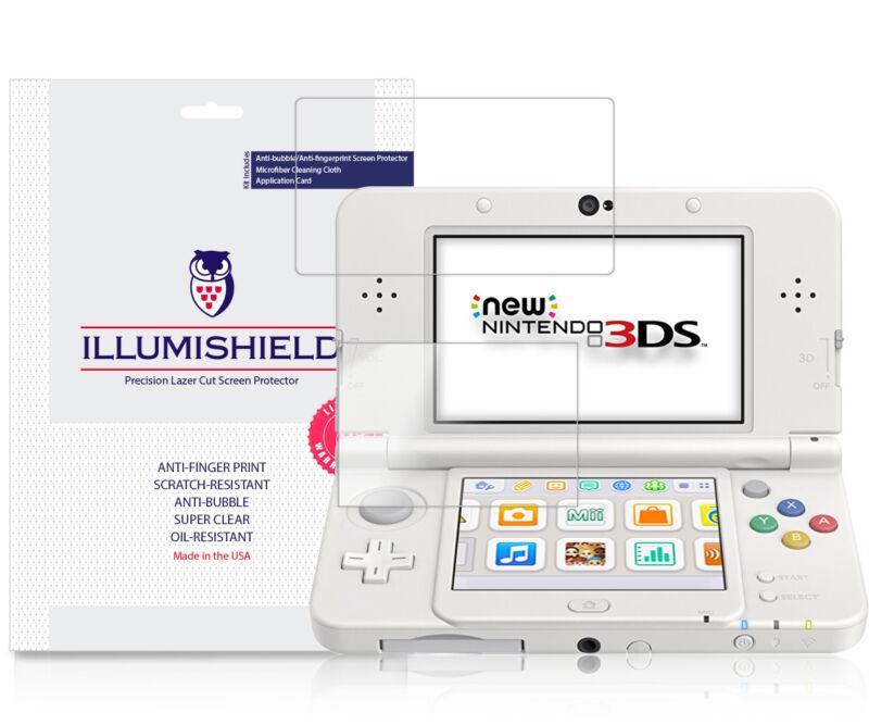 iLLumiShield Screen Protector 3x for New Nintendo 3DS Standard 2015