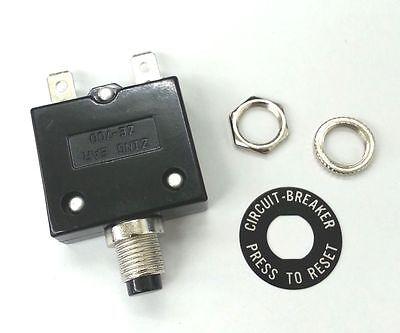 New 15 Amp Pushbutton Circuit Breaker Zing Ear Ze-700-15 15a
