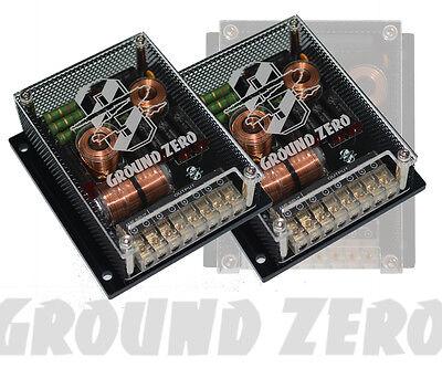 GROUND ZERO GZUX (GZUC130X) - 2/3-Wege Frequenzweichen / Kickwooferweichen Neu