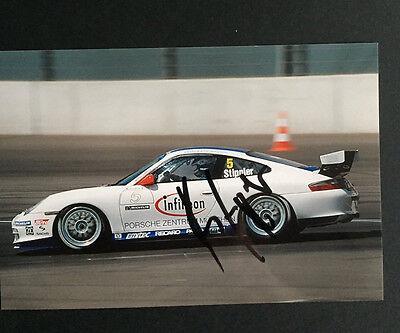 Porsche-Cup original Autogramm v. Frank Stippler