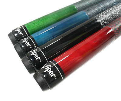 Viper Elite Series Pool Cue Sticks - Set of 4, 18 - 21 oz
