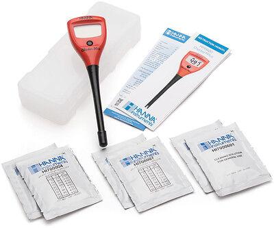 Checker Ph-tester (Hanna Instruments Checker Plus pH Tester LCD HI98100 SAVE $$ W/ BAY HYDRO $$)