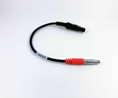 New Power Cable For Topcon Gps Hiper -- Hiper Lite Wired To Sae 2-pin Connector