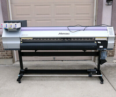 Mimaki Jv33-160 Solvent Printer New Head Mutoh Roland Graphtec Summa Gbc Cutter