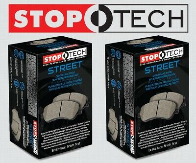 [FRONT + REAR SET] STOPTECH Street Performance Disc Brake Pads STP99351