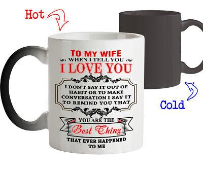 Coffee Mug Love Gift for Wife You are the Best Thing Happened to Me Tee (Best Coffee Mug Thing Coffee Mugs)