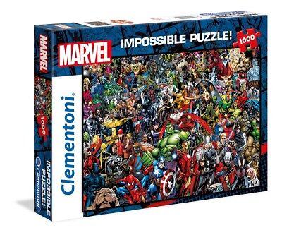 IMPOSSIBLE PUZZLE - MARVEL UNIVERSE - Clementoni 39411 - 1000 Pcs.