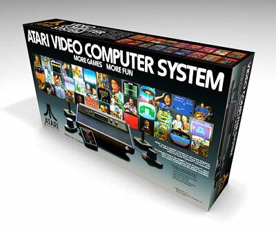 Caja vacia Atari 2600 VCS (no incluye la consola) | 2600 VCS...