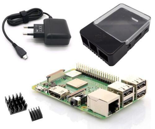 Raspberry Pi 3 Modell B+ (neues 2018 Modell) Light Starter Kit Bundle Set